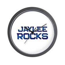 jaylee rocks Wall Clock