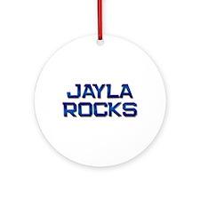 jayla rocks Ornament (Round)