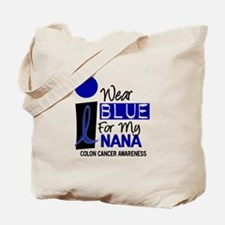 I Wear Blue For My Nana 9 CC Tote Bag