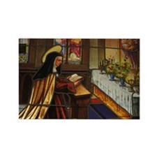 St. Teresa of Avila Rectangle Magnet (10 pack)