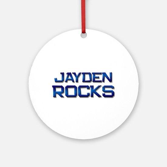 jayden rocks Ornament (Round)
