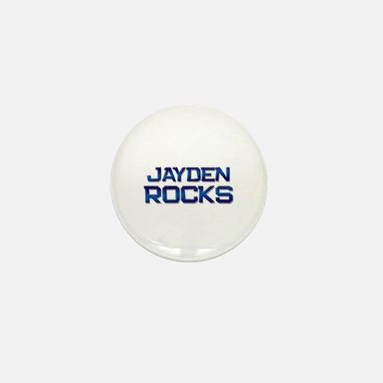 jayden rocks Mini Button