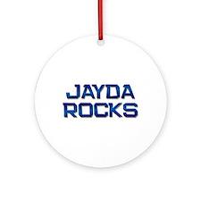 jayda rocks Ornament (Round)