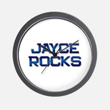 jayce rocks Wall Clock