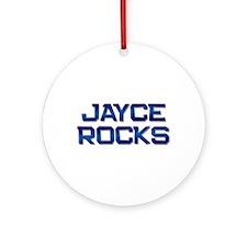 jayce rocks Ornament (Round)