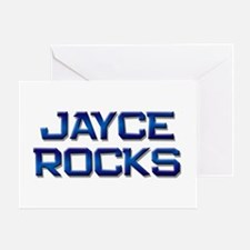 jayce rocks Greeting Card