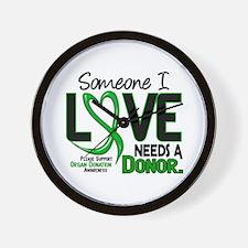 Needs A Donor 2 ORGAN DONATION Wall Clock