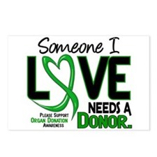 Needs A Donor 2 ORGAN DONATION Postcards (Package