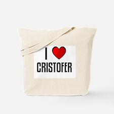 I LOVE CRISTOFER Tote Bag