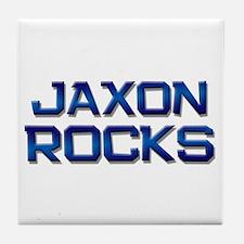 jaxon rocks Tile Coaster