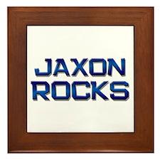 jaxon rocks Framed Tile