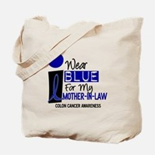 I Wear Blue For My Mother-In-Law 9 CC Tote Bag