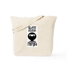 Silent Assassin Ninja Tote Bag
