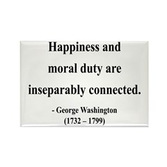 George Washington 14 Rectangle Magnet (10 pack)