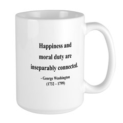 George Washington 14 Large Mug