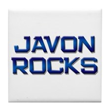 javon rocks Tile Coaster