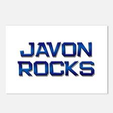javon rocks Postcards (Package of 8)