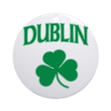 Dublin Irish Ornament (Round)