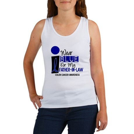 I Wear Blue For My Father-In-Law 9 CC Women's Tank