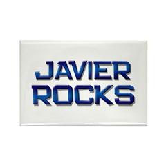 javier rocks Rectangle Magnet (10 pack)