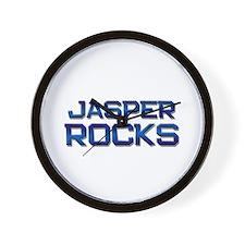 jasper rocks Wall Clock