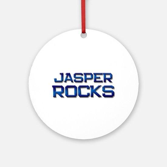 jasper rocks Ornament (Round)