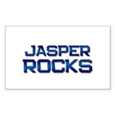 jasper rocks Rectangle Decal