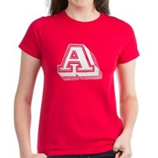 Letter A Tee