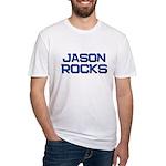 jason rocks Fitted T-Shirt