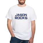 jason rocks White T-Shirt