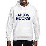 jason rocks Hooded Sweatshirt