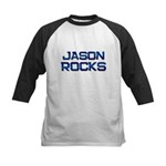 jason rocks Kids Baseball Jersey