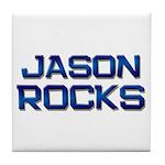 jason rocks Tile Coaster