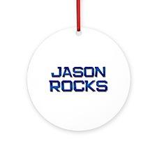 jason rocks Ornament (Round)
