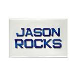 jason rocks Rectangle Magnet (10 pack)