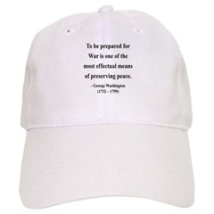George Washington 15 Baseball Cap