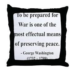 George Washington 15 Throw Pillow