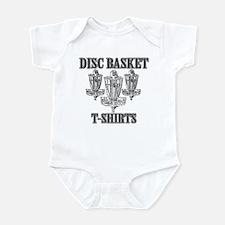 Disc Basket T-Shirts Infant Bodysuit