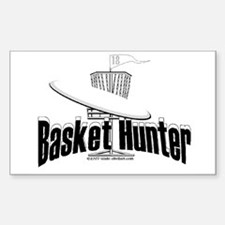 Basket Hunter Rectangle Decal