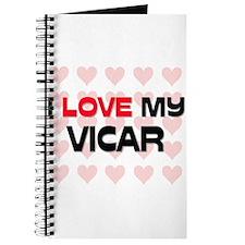 I Love My Vicar Journal