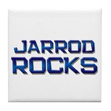 jarrod rocks Tile Coaster