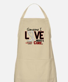 Needs A Cure 2 LUNG CANCER BBQ Apron