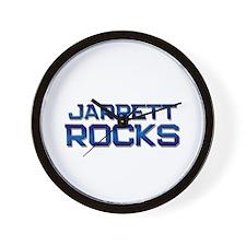 jarrett rocks Wall Clock