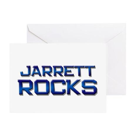 jarrett rocks Greeting Card