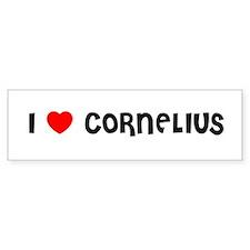 I LOVE CORNELIUS Bumper Bumper Sticker