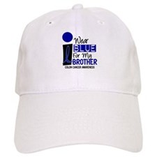 I Wear Blue For My Brother 9 CC Baseball Cap