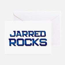 jarred rocks Greeting Card