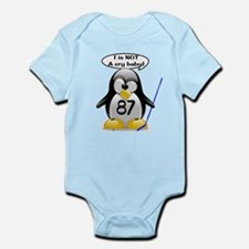 I is NOT a cry baby Infant Bodysuit