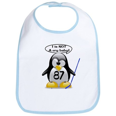 I is NOT a cry baby Bib