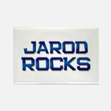 jarod rocks Rectangle Magnet
